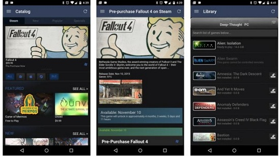 Download Steam Android