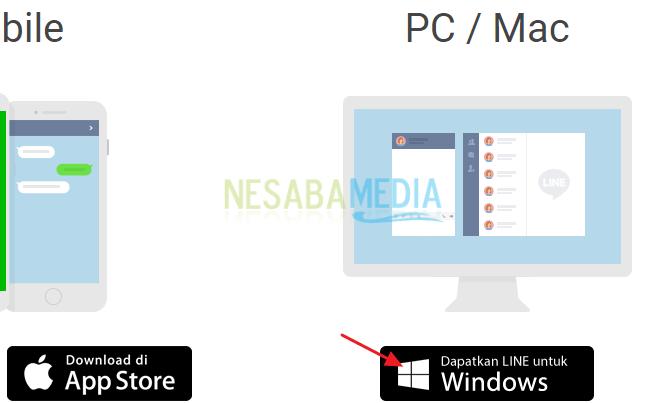 Cara Download LINE di Laptop Windows