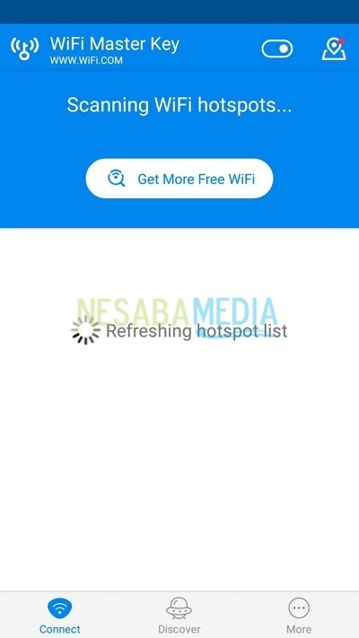 refreshing hotspot list