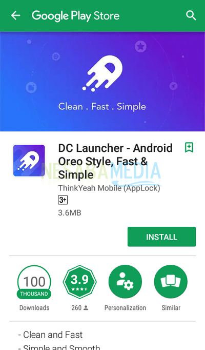 3 - install the DC Launcher application