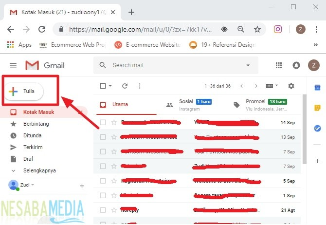 masuk ke akun gmail