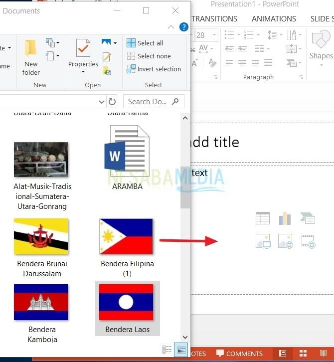 4 Cara Menyisipkan Gambar Pada Slide Powerpoint Untuk Pemula