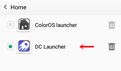 7 - choose DC Launcher