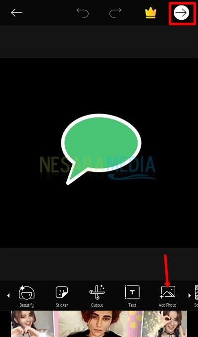 Click the Add Photo icon