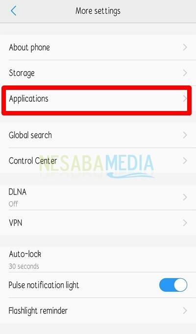 Buka Manajer Aplikasi