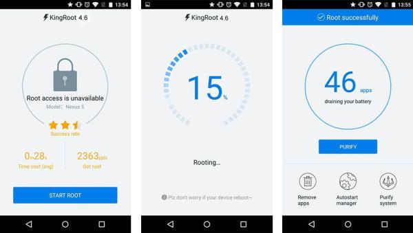 Aplikasi Root untuk Android