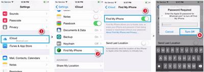 cara unlock iCloud di iphone