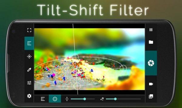 Tilt-Shift Filter