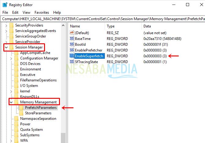 cara mematikan Superfetch di Windows 10