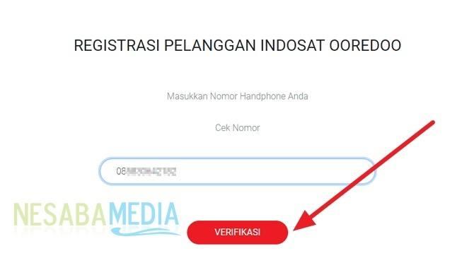 cara registrasi ulang kartu Indosat / IM3 online