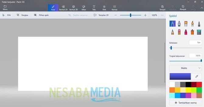 cara install Paint versi baru yang mendukung 3D
