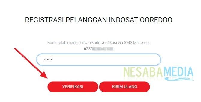 cara registrasi ulang kartu Indosat / IM3 lewat SMS maupun website
