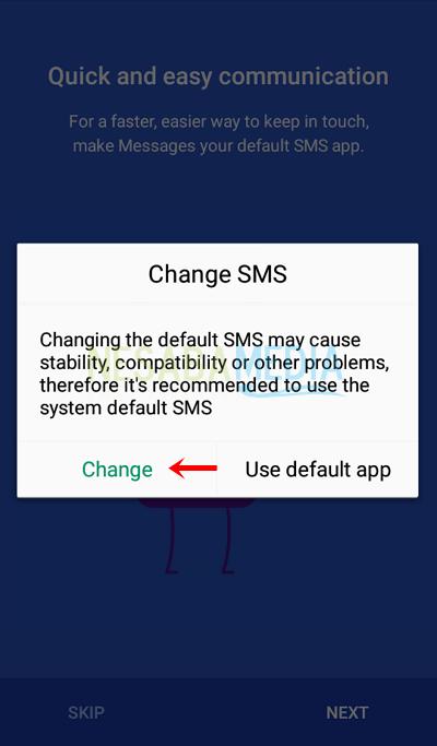 cara mengirim SMS lewat PC atau laptop dengan Android Messages