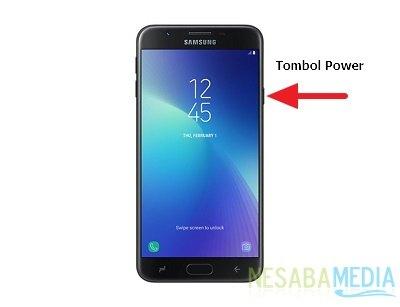 Cara Restart HP Samsung