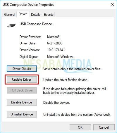 click update driver