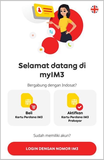 Cara Cek Kuota Indosat Melalui myIM3 3