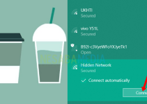 Cara Terhubung Ke Hidden WiFi di Windows 10