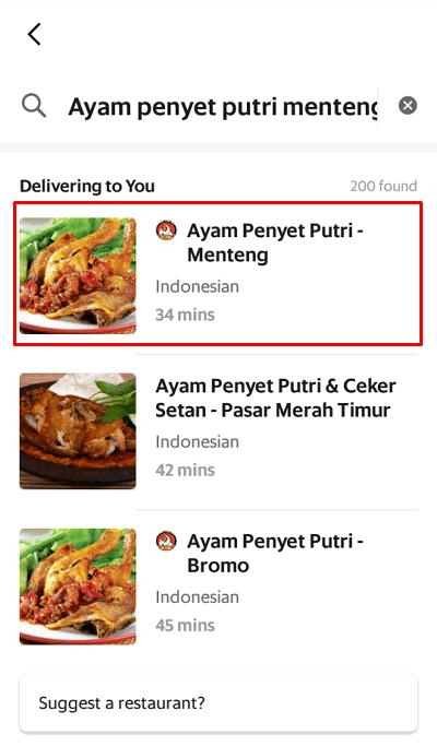 Layanan 3 3 - pilih restoran