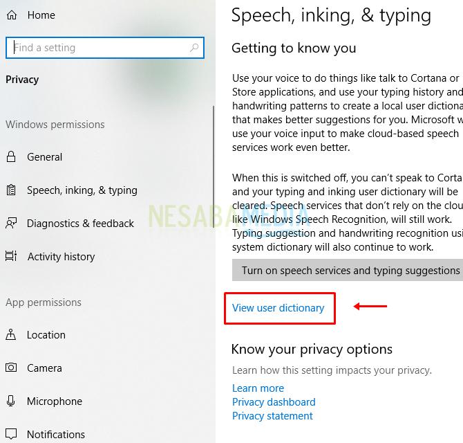 Cara Menghapus Riwayat Pencarian Cortana di Windows 10