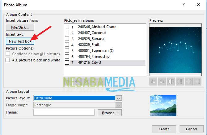 Cara Membuat Album Foto di Microsoft Power Point