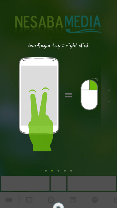 how to make Android as a mouse and keyboard