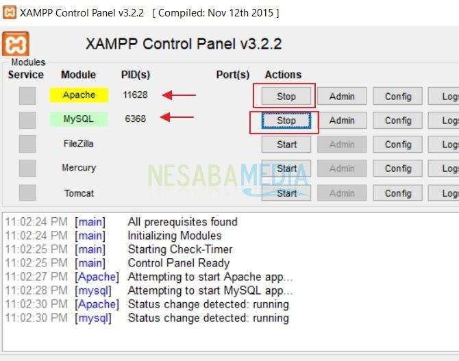 cara membuat database mysql di phpmyadmin