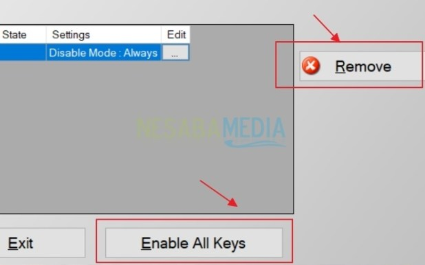 How to Disable Certain Keyboard Keys
