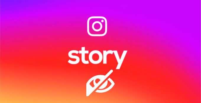 Cara Menyembunyikan Story Instagram