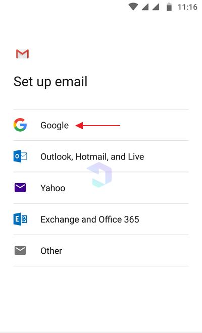 membuat email di HP 10