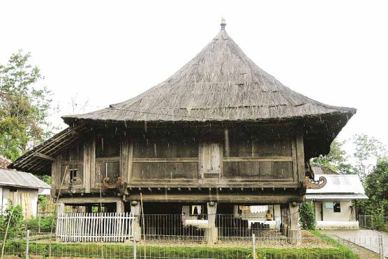 Lampung traditional house