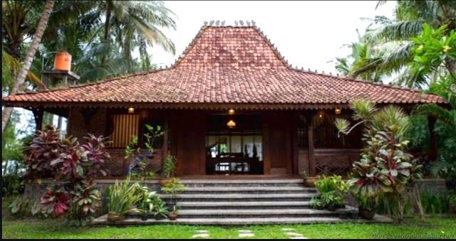 Rumah Adat Jawa Timur Dan Ciri Khasnya Gambar Lengkap