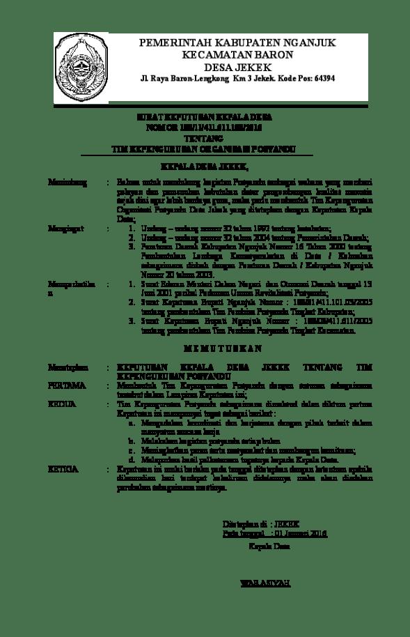 Contoh Surat Pengangkatan Jabatan Karyawan Swasta : contoh, surat, pengangkatan, jabatan, karyawan, swasta, Contoh, Surat, Keputusan, Pengangkatan, Karyawan, [LENGKAP]