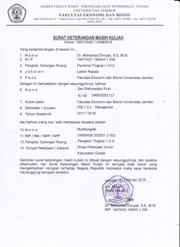 Lecture Certificate