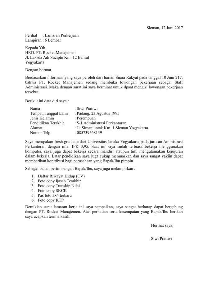 Itulah mengapa peran surat lamaran kerja dalam diterimanya kamu di sebuah perusahaan sangat besar. √ 15+ Contoh Surat Lamaran Kerja yang Baik & Benar +File Doc