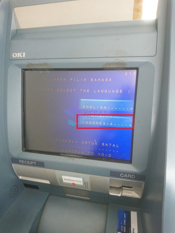 Cara Setor Tunai di ATM Mandiri Edisi Terbaru