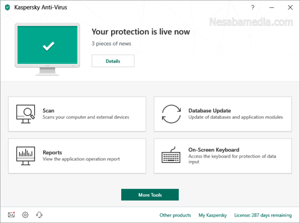Download Kaspersky Antivirus Terbaru
