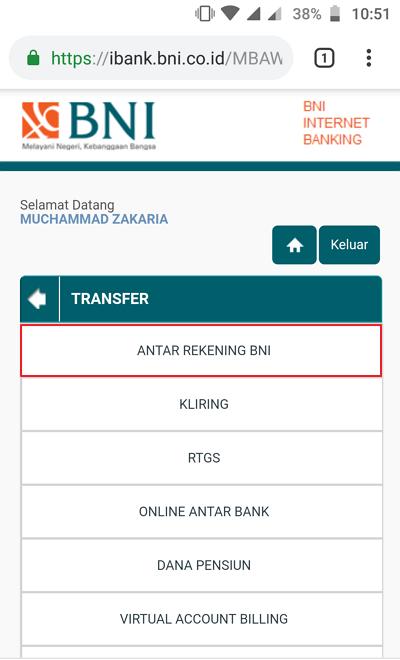 Between BNI Accounts