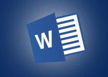 Cara Membuat Tulisan Melengkung di Word