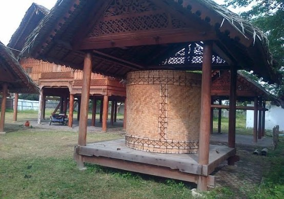 Aceh Traditional Houses Rice Barn