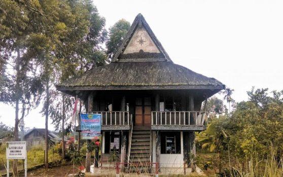 Angola traditional house