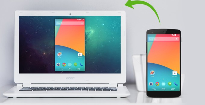 Cara Mirroring Android ke PC