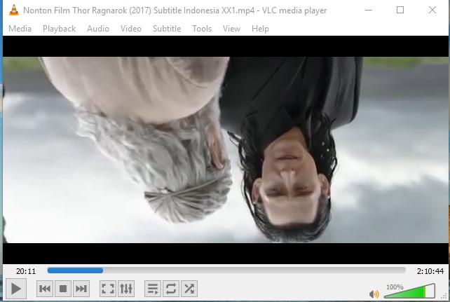 Rotasi Video VLC 1