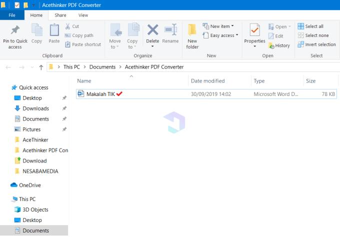 Convert PDF ke Word 5