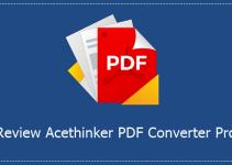 Review Acethinker PDF Converter Pro