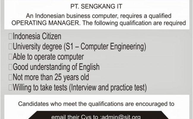 Contoh Soal Pilihan Ganda Job Vacancy Surat 31 Cute766