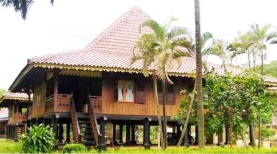 Rumah Adat Bengkulu dan Ruangannya
