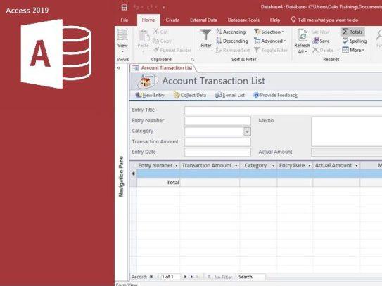 kegunaan Microsoft Access dan fiturnya