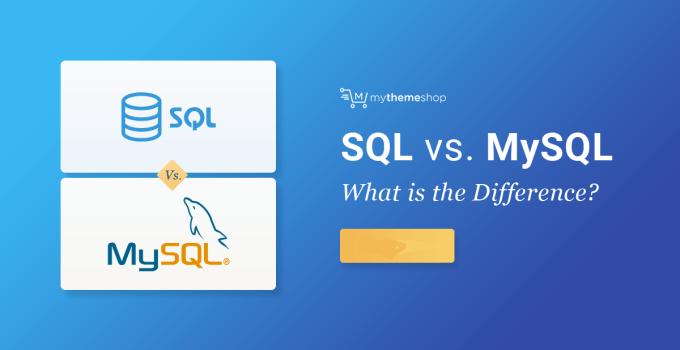 Perbedaan SQL dan MySQL