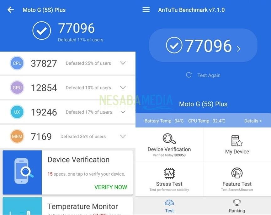 Cara Cek Skor AnTuTu Android 11