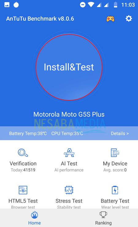 Cara Cek Skor AnTuTu Android 4